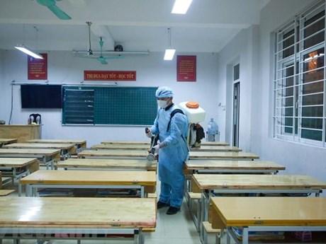 Học sinh Ninh Thuận, Đồng Tháp tạm dừng đến trường để phòng dịch