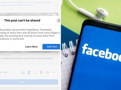 Các dịch vụ khẩn cấp Australia bị ảnh hưởng sau lệnh cấm của Facebook