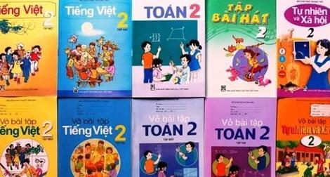 Phê duyệt 72 sách giáo khoa lớp 2 và lớp 6