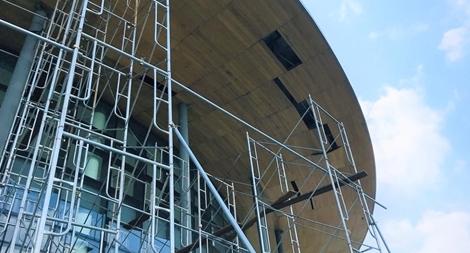 Nhà hát trăm tỷ đẳng cấp quốc tế hư hỏng sau gần 1 năm sử dụng