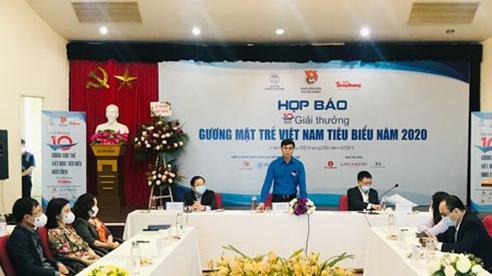 20 đề cử vào vòng bình chọn Giải thưởng gương mặt trẻ Việt Nam tiêu biểu năm 2020