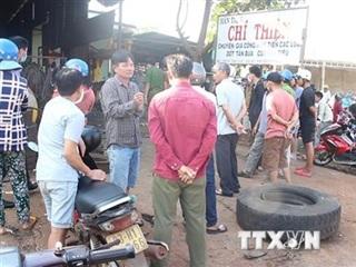 Bình Phước: Nổ lốp xe ôtô khi vừa bơm xong, chủ gara ô tô tử vong