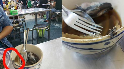 Đang ăn ngon, vị khách tái mặt phát hiện 'vật thể lạ' trong bát mì, nhưng thái độ 'biết nhưng thờ ơ' của chủ quán mới thật đáng bất mãn