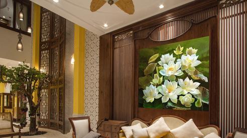 Nhà phố đẹp bình yên, tĩnh tại mang phong cách Á Đông ở Buôn Ma Thuột