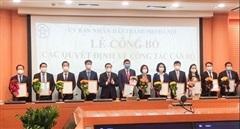 Hà Nội bổ nhiệm Giám đốc 4 sở