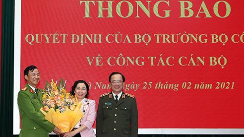 Phó Giám đốc Công an Hà Nam được bổ nhiệm làm Giám đốc Công an Lâm Đồng