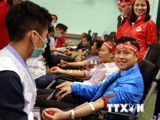 'Chiến sỹ áo trắng' tích cực tham gia hiến máu vì sức khỏe cộng đồng