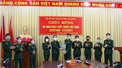 Bộ CHQS tỉnh Hải Dương tổ chức gặp mặt, chúc mừng Ngày Thầy thuốc Việt Nam