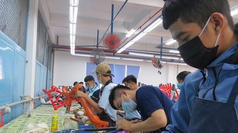Công nhân các Khu công nghiệp TP.HCM  đã quay trở lại làm việc ổn định sau Tết