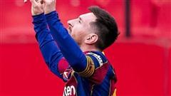 Messi tỏa sáng rực rỡ, Barcelona tạm chiếm giữ vị trí của đại kình địch Real