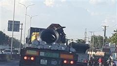Kiểm tra, xử lý xe chở quá trọng tải tại TP. HCM