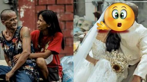 Được nhà hảo tâm giúp đỡ, cặp đôi U60 nghèo nhặt ve chai 'quay ngoắt 180 độ' với bộ ảnh cưới đậm chất fashionista, ai xem cũng trố mắt