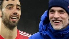 Thomas Tuchel dùng Bruno Fernandes làm 'nhiễu' MU đấu Chelsea