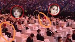 'Bơ nhau' tại Đêm hội Weibo nhưng Lộc Hàm lại bị bắt gặp đưa mắt nhìn lén Quan Hiểu Đồng