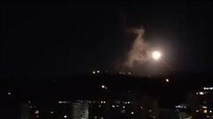 Hai ngày sau vụ không kích bất ngờ của Mỹ, tên lửa lại dội thẳng xuống thủ đô của Syria