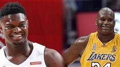 Thăng hoa trong suốt một tháng, Zion Williamson sánh vai cựu huyền thoại Lakers