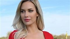 Nữ golfer quyến rũ nhất thế giới bảo vệ đồng nghiệp bị 'ném đá' vì không mặc áo ủng hộ huyền thoại Tiger Woods