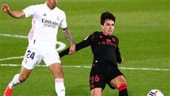 Hòa nghẹt thở phút 89 trên sân nhà, Real Madrid an phận Top 3 La Liga