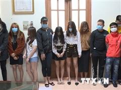 Bắc Ninh: Phát hiện 24 thanh niên sử dụng ma túy trong quán karaoke