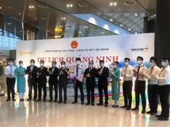 Vietnam Airlines khôi phục đường bay Thành phố Hồ Chí Minh-Vân Đồn