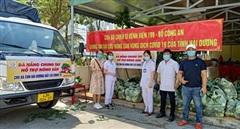 Bệnh viện 199 chung tay giải cứu nông sản Hải Dương