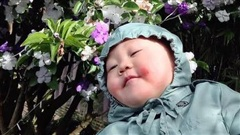Em bé má phính chỉ nằm im chụp ảnh đi khắp Đà Lạt 'đốn tim' cộng đồng mạng, phía sau đó là lý do cực ngọt ngào