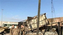 Căn cứ Mỹ tại Iraq bị tấn công bằng 10 quả rocket