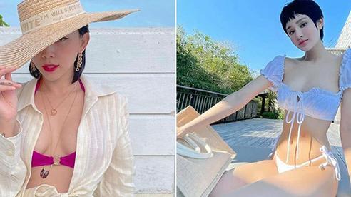 Tóc Tiên và Hiền Hồ cùng tung ảnh bikini: Ai trông hút mắt hơn?