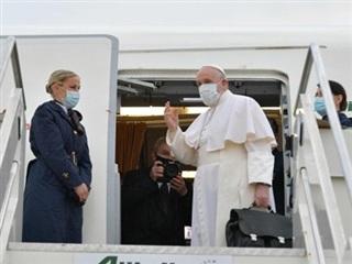 Giáo hoàng Francis bắt đầu chuyến công du lịch sử dài 4 ngày tới Iraq