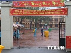 Hải Dương: 10 xã phường ở thị xã Kinh Môn tái thiết lập cách ly xã hội
