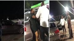 Video: Bị bạn gái chia tay, người đàn ông bám trên nắp ca-pô xe BMW, quyết 'đòi quà'