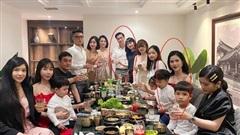 Việt Anh cùng vợ cũ tổ chức tiệc sinh nhật cho con trai