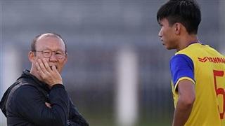 Văn Hậu khó đá vòng loại World Cup: Ông Park lại trông vào vận may
