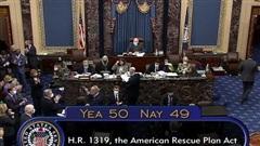 Thượng viện Mỹ họp thâu đêm, thông qua gói cứu trợ kỷ lục