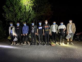 16 người Trung Quốc nhập cảnh trái phép vào Việt Nam rồi tìm đường sang Campuchia