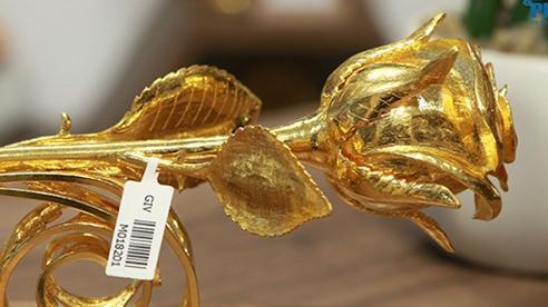 'Siêu phẩm' hoa hồng vàng 24K giá hơn 300 triệu đồng cho ngày 8/3 đặc biệt thế nào?