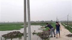 Vụ 2 anh em ruột tử vong dưới hố chôn cột điện ở Thanh Hóa: Công an vào cuộc điều tra