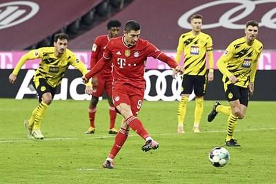 Atletico chia điểm với Real Madrid, Bayern ngược dòng thắng Dortmund