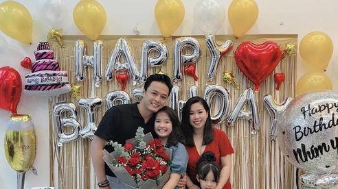 Diễn viên Hồng Đăng tổ chức sinh nhật cho con gái