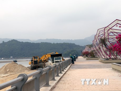 Công an vào cuộc vụ doanh nghiệp đổ đất đá xuống vịnh Bái Tử Long