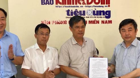 Sáp nhập Văn phòng báo Pháp Luật & Xã Hội vào Văn phòng báo Kinh tế & Đô thị tại TP Hồ Chí Minh
