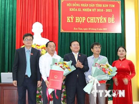 Ông Nguyễn Ngọc Sâm được bầu giữ chức Phó Chủ tịch UBND tỉnh Kon Tum