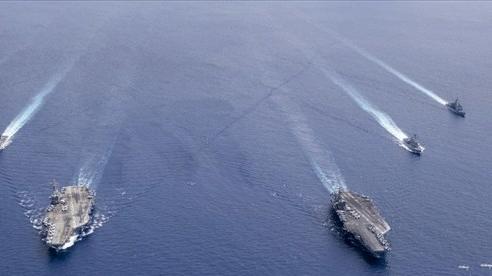 Báo Trung Quốc: Hoạt động quân sự của Mỹ ở Biển Đông trong năm 2020 là điều chưa từng có tiền lệ