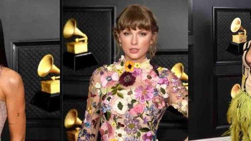Dàn sao đổ bộ siêu thảm đỏ Grammy