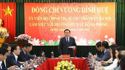 Xây dựng văn hóa, thương hiệu Trường Đào tạo cán bộ Lê Hồng Phong