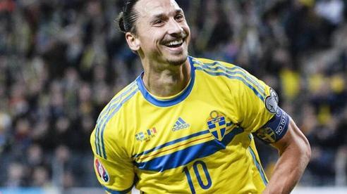 Zlatan Ibrahimovic trở lại Đội tuyển Thụy Điển