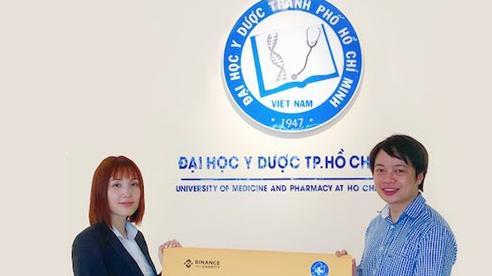 Quỹ Binance Charity trao tặng 10.000 khẩu trang N-95, chung tay chống dịch Covid-19