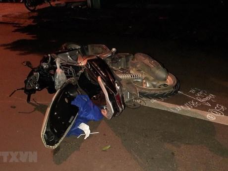 Đắk Lắk: Ôtô khách va chạm với xe máy, 3 người thương vong