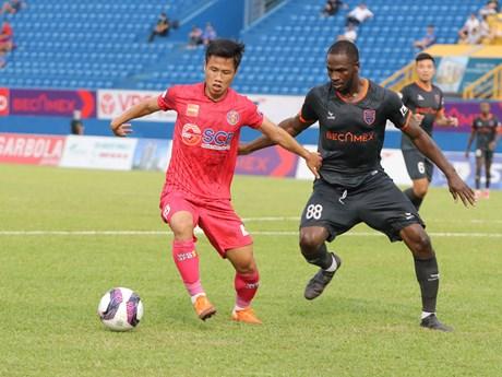 V-League 2021: Bình Dương thắng tối thiểu Sài Gòn FC trên sân nhà
