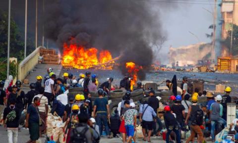 Hơn 300 người thiệt mạng từ khi đảo chính xảy ra ở Myanmar